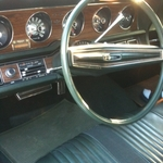 '71 tbird interior - so clean!