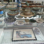 vintage Mexican plates