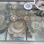 Mexican vintage earthenware plates