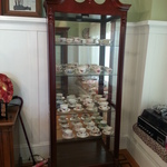 china cabinet with c/s collection