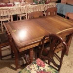 large downstairs table
