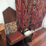 early chair & textile