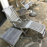 partial set Adirondack chairs