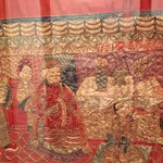 Chinese embroidered tapestry