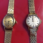 women's 18k and 14k watches