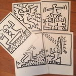 Keith Harring prints
