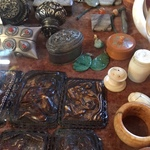 jade and ethnographic pieces