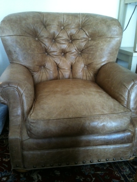Ralph Lauren Leather Chair