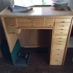 Jewelry/Watchmaker's desk