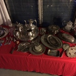 vintage silver plate