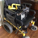 fully functional electric wheelchair