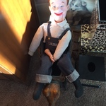 Laurel & Hardy doll