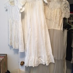 vintage women's and baby clothing