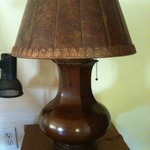 Great B&H lamp with micca shade