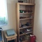 desk and bookcase