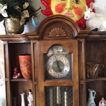 clock and knick knacks
