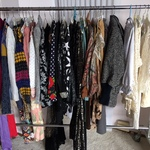 large lot of women's clothing size M-XL