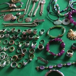 partial selection costume jewelry