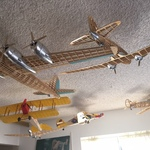 vintage airplane models