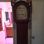 decorative tall case clock