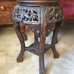 carved Asian table