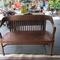 great outdoor vintage bench