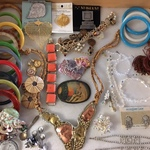 small sampling of costume jewelry