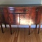 American Federal Mahogany bow-front sideboard, mid 1800's