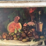 Nov Early Still Life Oil On Canvas