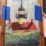 Piedmont Back Lighthouse Art
