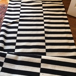 Piedmont Black & White Rug