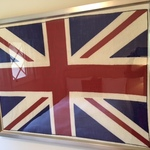 Piedmont British Flag Art