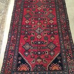 Piedmont Red Hand Tied Rug