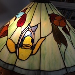 Berk Stained Glass Lamp