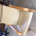 Berk White Office Chair